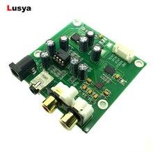 ES9018K2M I2S/IIS DSD Dijital Ses DAC Dekoder Kurulu Desteği 32bit 384 k AUX Analog Çıkış DC 9- 15 V F4-009