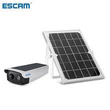 Security-Camera Solar-Battery ESCAM Alarm WIFI 1080P PIR with Audio QF270 Consumption