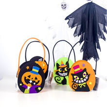 1pcs/lot  Halloween Childrens Trick or Treat Sugar Shopping Basket Favorite Candy