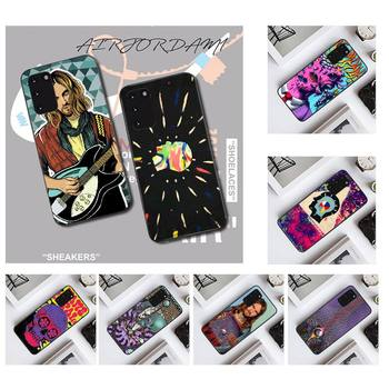 NBDRUICAI Psychedelic Tame Impala DIY Painted Bling Phone Case for Samsung S20 plus Ultra S6 S7 edge S8 S9 plus S10 5G image