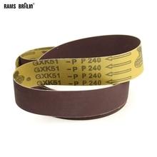 5 pieces 2000*50mm A/O Abrasive Sanding Belts P60 P80 P120 P180 P240 P320 P400 P600 for Wood Soft Metal Polishing