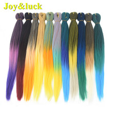 Joy&luck Braid 26inch Long Ombre Braiding Hair Extensions Sy