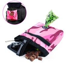 Портативный Открытый питомец, обучающий для собак кошек сумка для угощений, закусок, наживка для собак, постижение, ловкость, уличная сумка, сумка для еды, сумка для собак, сумка для еды
