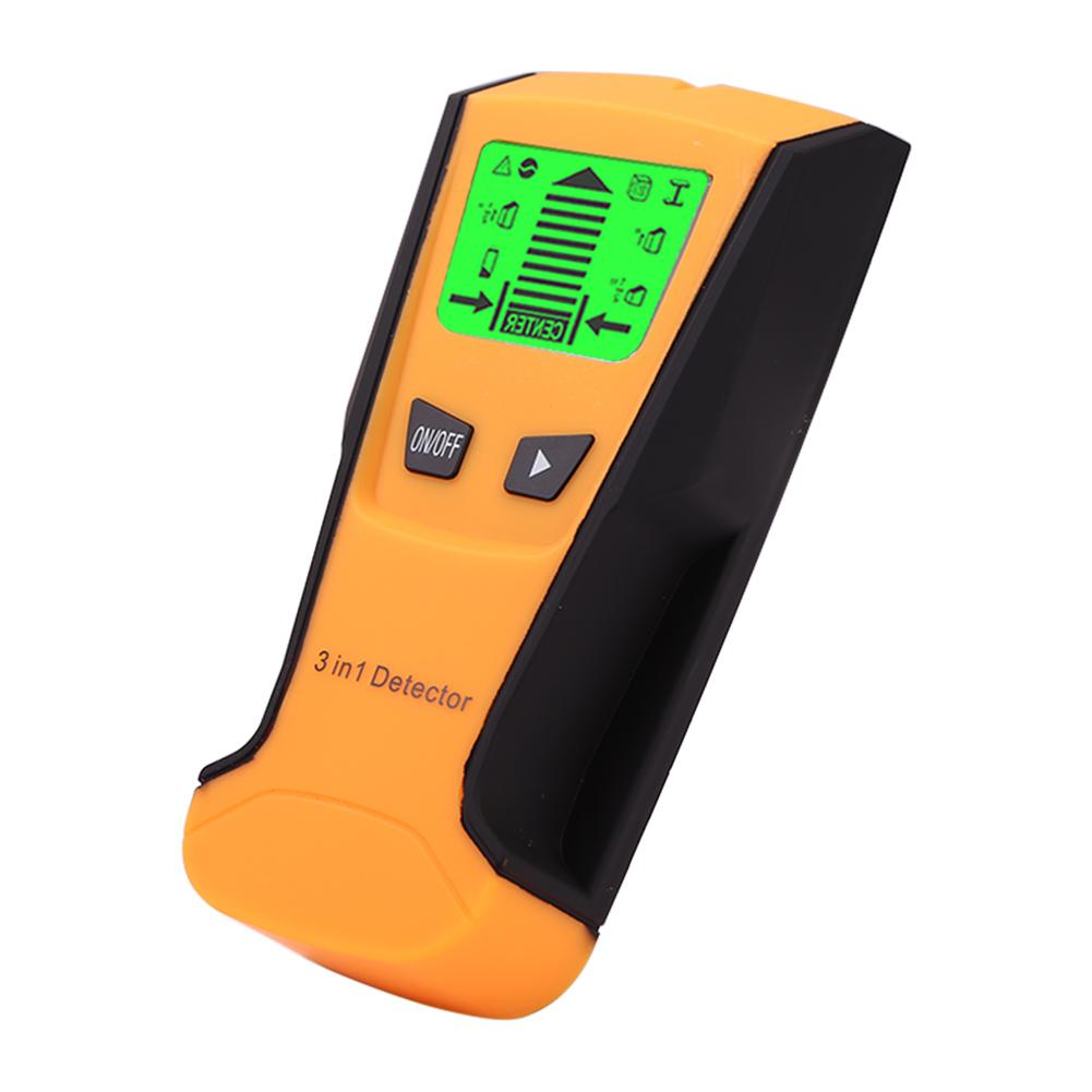 3 en 1 de Metal Detector de encontrar tacos de madera Metal de tensión AC en directo de detectar pared escáner Detector de caja eléctrica de pared de Sy-1 de 3 pulgadas TFT LCD HD, cámara Digital para puerta, timbre de ojo, detección de movimiento de puerta eléctrica, Visor de mirilla de 120 grados