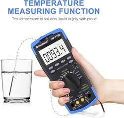 Цифровой мультиметр, автоматическое определение яркости, 40000 отсчетов, мультиметр, тестер, вольтметр, амперметр с высокой точностью