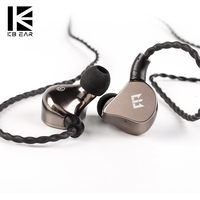 TRI I4 In Ear Wired Headphones 1BA+1DD Hybrid Earphones HIFI Bass Earbud DJ Metal Auricolare Headset With Mmcx Cable For Phone