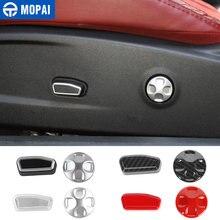 Mopai car interior seat adjustment knob decoration trim cover