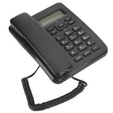 Corded Wired-Phone Dtmf/fsk-System Home Desktop Office Caller-Id-Display Hotel-Use