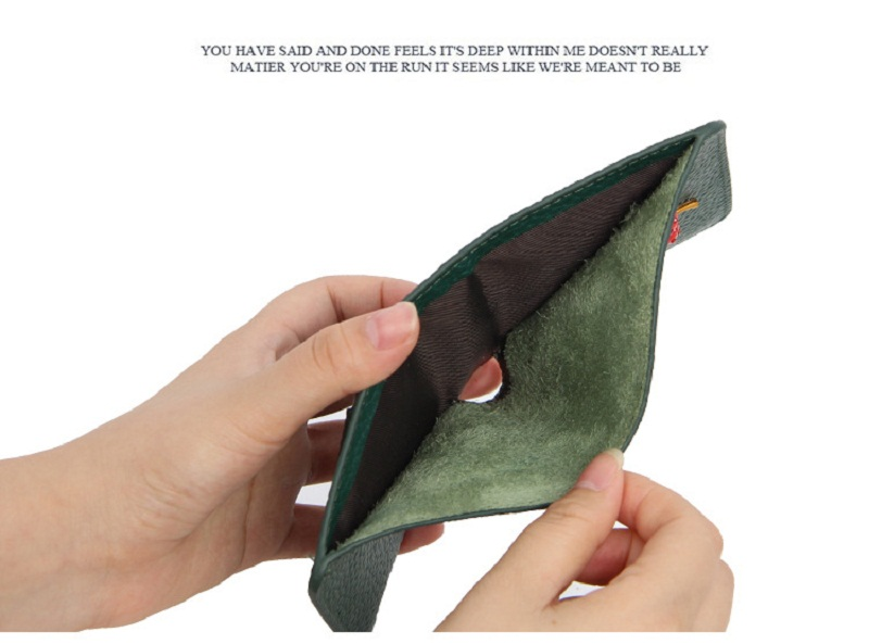 carteiras compactas simples pequena cereja carteira titular