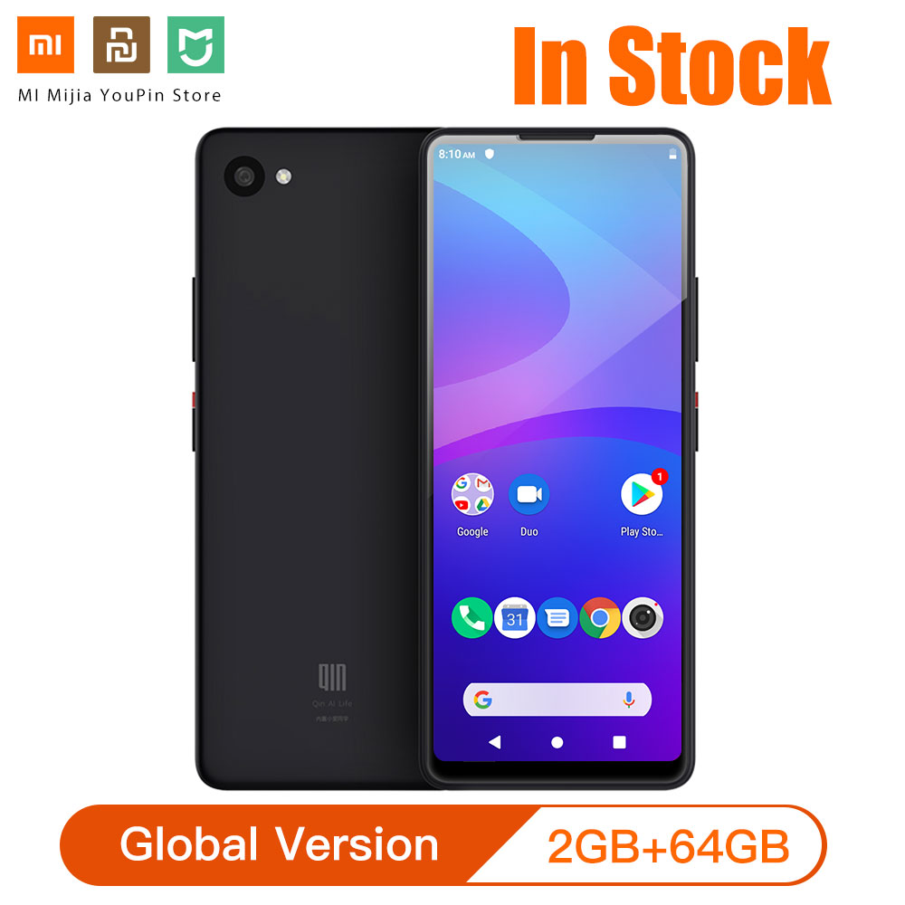 Global Version Xiaomi QIN 2 Pro Full Screen Phon E 4G Network With Wifi 5.05 Inch 2100mAh Andriod 9.0 SC9863A Octa Core Feature