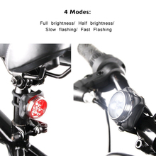 Cycling Tail Taillight Bike LED Light Bicycle Lamp USB Rechargeable Bike Tail Light Cycling 4 Light Modes LED Bicycle Lamps USB bikein road bike led front light taillight usb rechargeable light cycling mountain bike handlebar mtb bicycle accessories