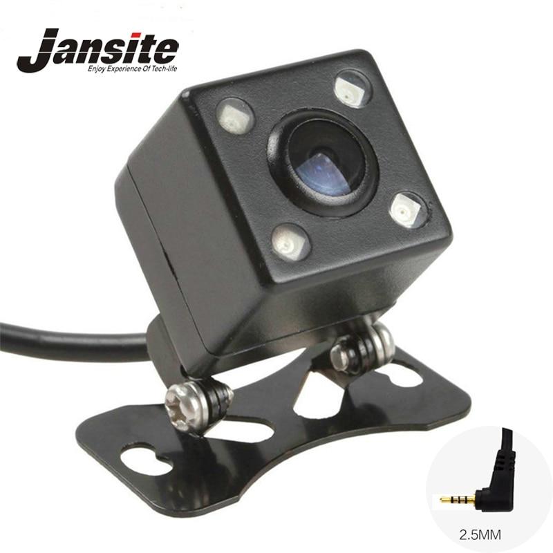 Ночное видение, 4 светодиодные лампы, камера заднего вида, HD CDD, камера заднего вида, объектив камеры 2,5 мм, разъем с 6 угольниками, кабель для а...