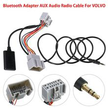 Buy 14Pin Car Wireless Bluetooth Adapter Audio Stereo AUX Cable Accessories For Volvo C30/S40/V40/V50/S60/S70/C70 directly from merchant!