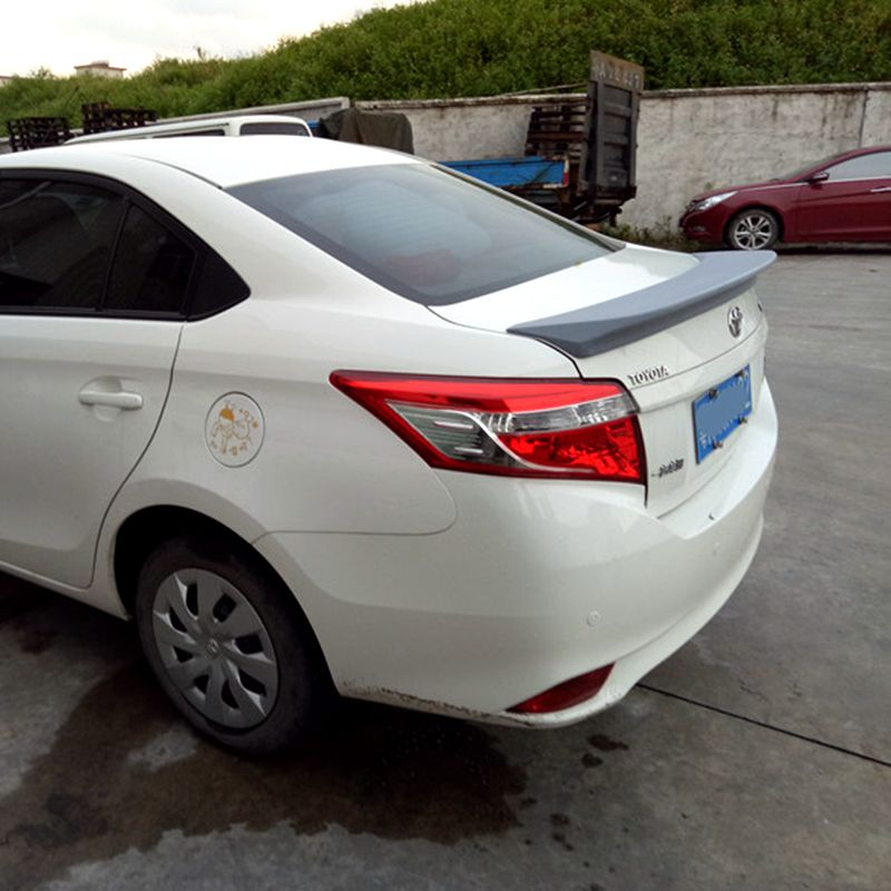 UBUYUWANT Spoiler ABS Material Car Rear Wing Spoiler beautification accessories For Toyota Vios 2014 2017|Spoilers & Wings| |  - title=
