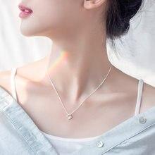 S925 srebro modny naszyjnik z bohimia wisiorek strasy łańcuszek do obojczyka biżuteria srebrna dla kobiet prezenty