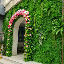 Artificial Lawn Wedding Decoration Plant Wall Outdoor Indoor DIY Wall Grass Artificial Plant Grass Moss Green Plant