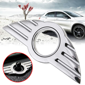Image 2 - Mayitr 1pc 3D Door Pin Badge Emblem Dedicated Rpelacement Lock Wing Stickers for BMW MINI Cooper/S/ONE/Roadster/Clubman/Coupe
