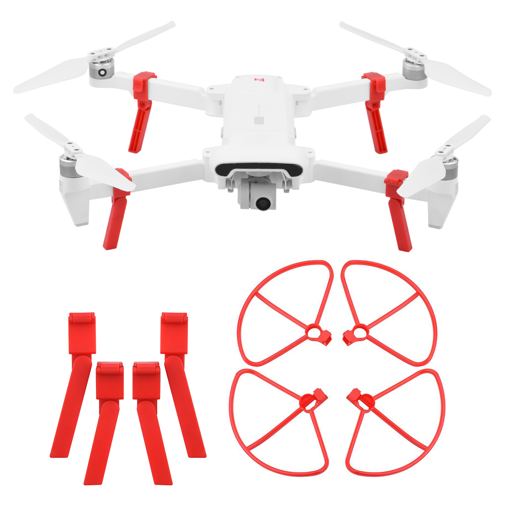 CW CCW Propellers For FIMI X8 SE Props Heightening Stand Protective Quadcopter Landing Gear Propeller Guard Accessories