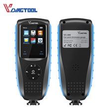 VDIAGTOOL-Medidor de espesor de pintura de coche VC300, probador de pintura de coche con retroiluminación LCD de medición Fe/NFe, accesorios de coche