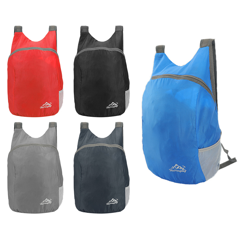 <font><b>20L</b></font> Outdoor Folding Rucksack Breathable Waterproof Lightweight Sports Travel <font><b>Backpack</b></font> <font><b>Hiking</b></font> Cycling Camping Storage Bag image