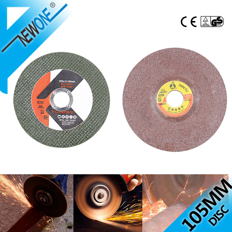 For 100mm Angle  Resin Cutting Blade Cut Off Wheels Sanding Grinding Disc Angle Grinder Cut Blade 105mm/4.13'' (inner Dia. 16mm)
