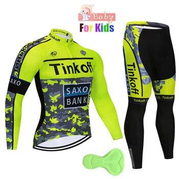 2018 crianças respirável longo camisa de ciclismo roupas crianças secagem rápida manga longa ropa ciclismo bicicleta conjuntos camisa meninos 1