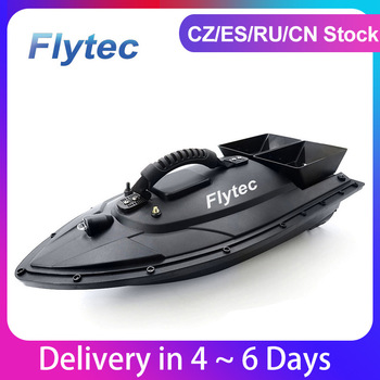 Flytec 2011-5 1.5kg Fish Boat RC Boat Fish Finder Professional Fisch Boat Fishing Bait Boat Remote Control Speedboat Toy 5.4km/h 1