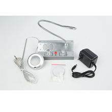 Home Security English Version Dual-way Intercom System For Bank Counter ticket office hospital Window intercom PA System