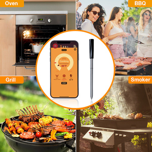 Image 5 - Kitchen Oven Thermometer Wireless Smart BBQ Meat Food Cooking Steak Thermometer Bluetooth Outdoor Barbecue Gifts