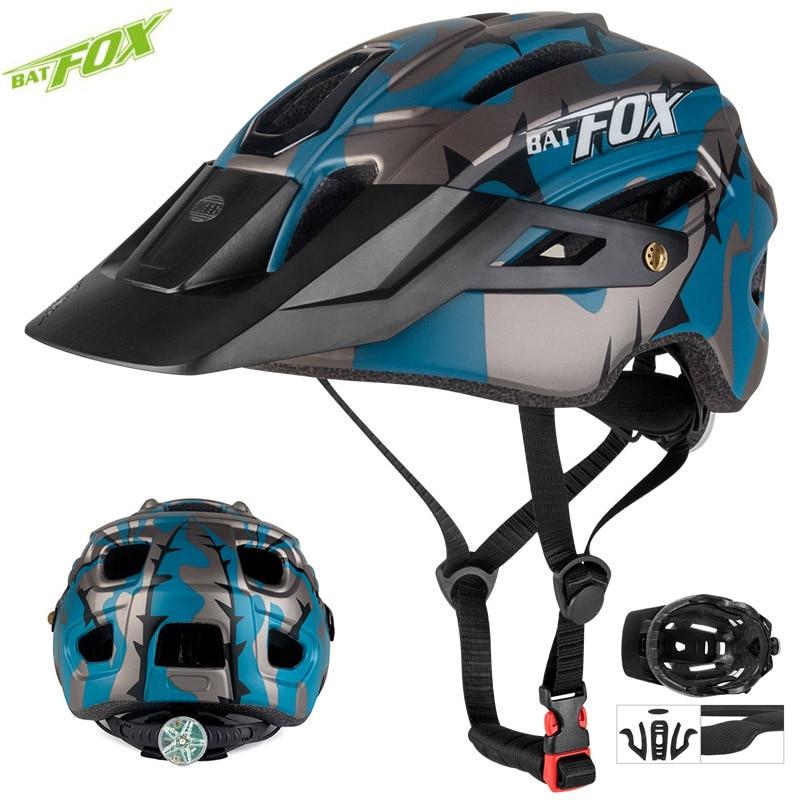 BATFOX Cycling Helmets men women Light Ultralight MTB Road Mountain Bike Bicycle Inner Cap casco Capacete Da Bicicleta Helmet