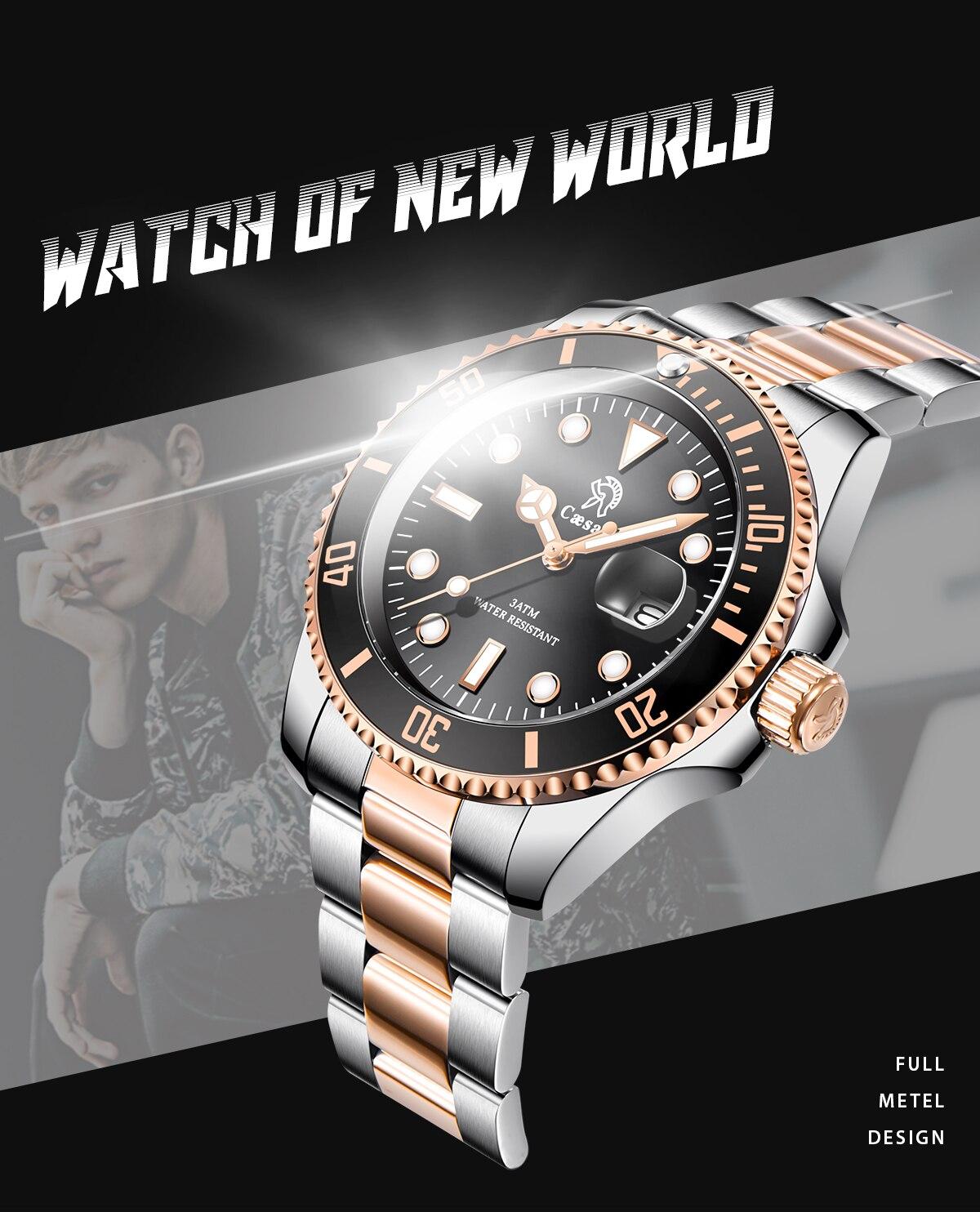 Hd758ca119ba54f82afe742a0e7d5cf49Y Rose Gold caesar  Top Brand Luxury Watches
