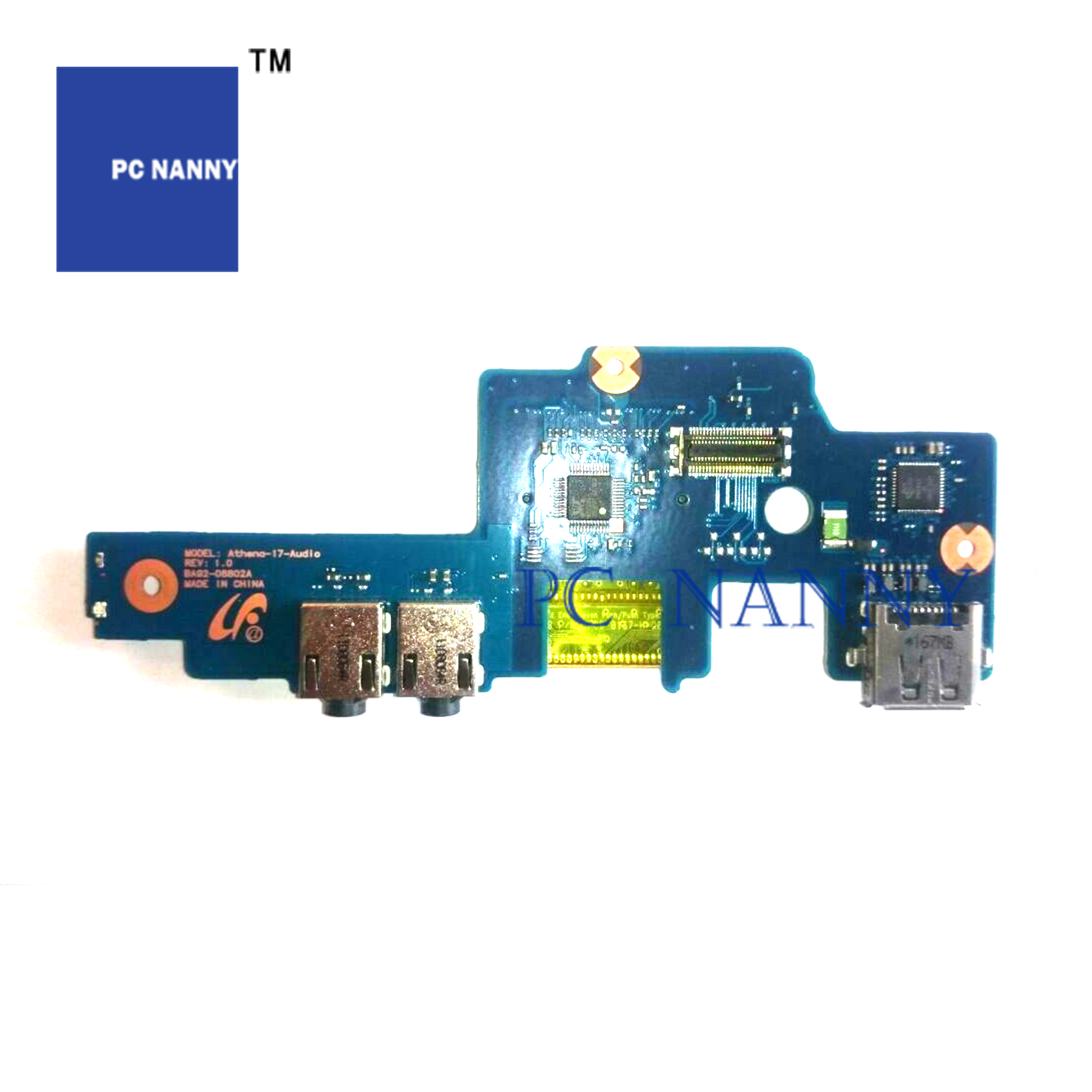 PCNANNY FOR SAMSUNG <font><b>NP700G7A</b></font> 700G7A 700G7C HDMI Audio SD usb power board BA92-08802A BA81-15513A image