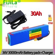 10S3P е-байка 36В 30Ah 18650 литий-ионный аккумулятор серии комплект литий-ионный батарей ионный аккумулятор пакет для 100 Вт-500 Вт Электрический скут...