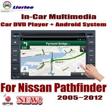 Car GPS Navigation For Nissan Pathfinder (R51) 2005~2012 IPS LCD Screen Android System Radio Audio Video Stereo image