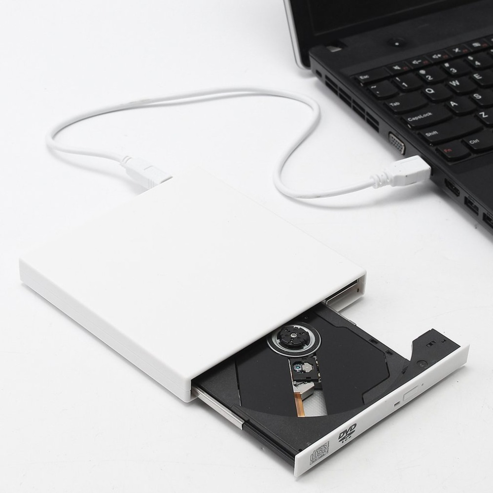External USB 2.0  Drive Burner CD  External DVD CD Writer External DVD-ROM Optical Drive For Desktop Computer Laptop