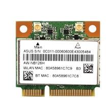 Ssea novo para azurewave AW-NB097H AW-NB100H AW-NB126H ar3012 ar5b225 metade mini pci-e wifi bt4.0 wlan cartão sem fio
