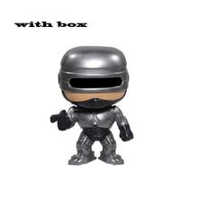 Виниловые экшн-фигурки ROBOCOP с коробкой, Коллекционная модель, игрушка для детей