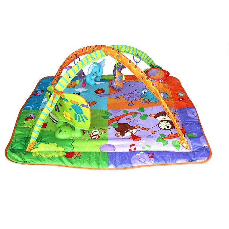 Tapis de sol pour bébé musical en développement pour enfants