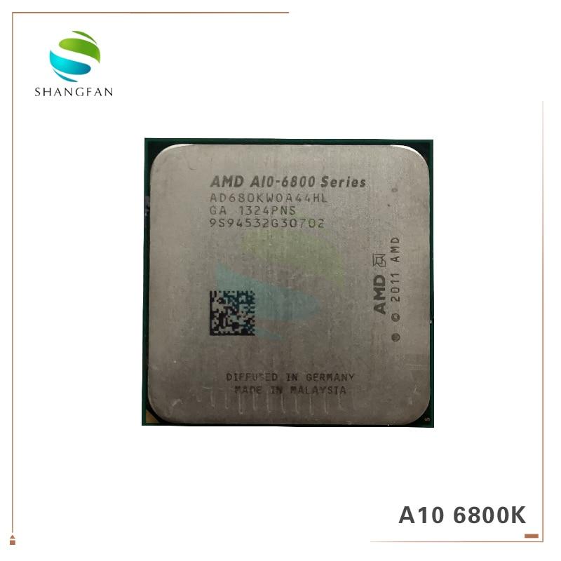 AMD A-Series A10-6800 A10-6800K A10 6800 A10 6800K 4.1Ghz 100W Quad-Core CPU Processor AD680KWOA44HL Socket FM2