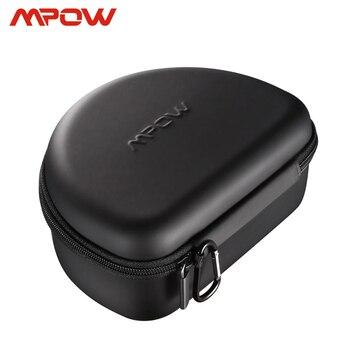 Mpow наушники сумка чехол для H5 H10 059 H7 036 беспроводные наушники наличные кабели карты ключи EVA + PU + Velet портативные сумки