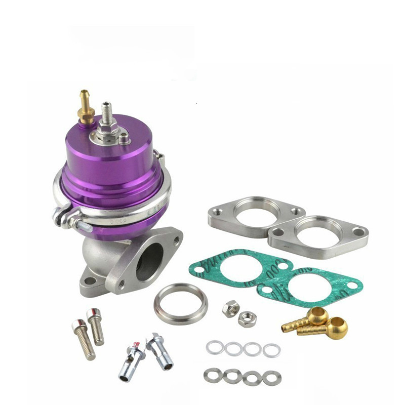 38mm 5.8 PSI Aluminum Exhaust Manifold Wastegate Adjustable Pressure V Band Waste Gate Car Modified Parts