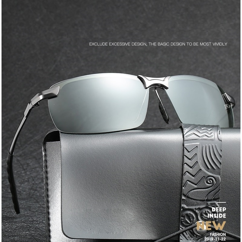 Photochromic Sunglasses Men Polarized Driving Chameleon Glasses Male Change Color Sun Glasses Day Night Vision Driver's Eyewear 2