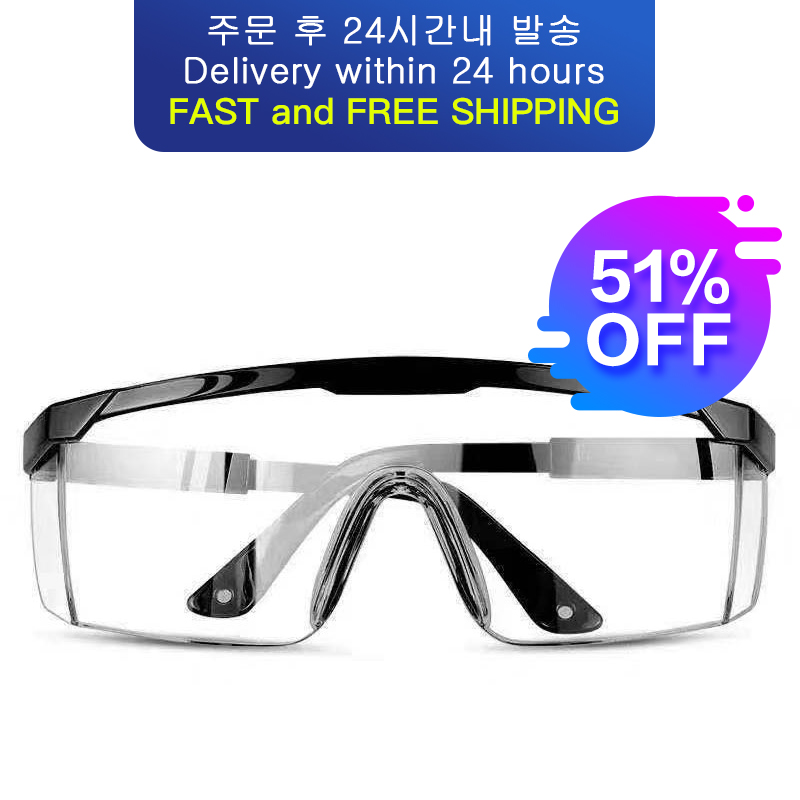 Goggles medical anti-fog saliva antibacterial isolation dust-proof wind-proof sand anti-fog multi-function labor protection