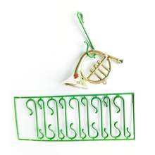 10pcs Christmas Ornaments Hooks Dolls Hanging Hooks PVC Easy to Use Portable Rings Ornaments for Home Xmas Decoration(China)