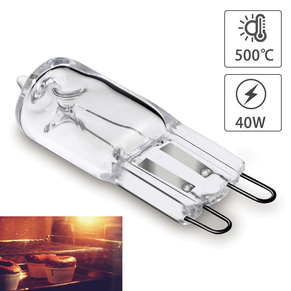 2 шт. печь светильник лампочка G9 высокая температура лампы отпариватель светильник G9 печь светильник ing лампы 110v-220v 40w 500 градусов