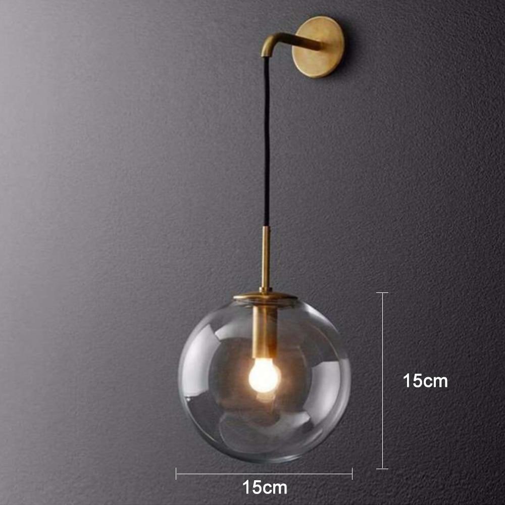 banheiro ao lado lâmpadas interior americano retro arandela luz