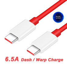 65W OnePlus 8T Warp Charging Cable 6.5A USB-C Dash Charging Cable For One Plus 8T+ 5G 1+8 Pro Nord 1+8 1+7T Pro 1+7T 1+6T 1+5 3T