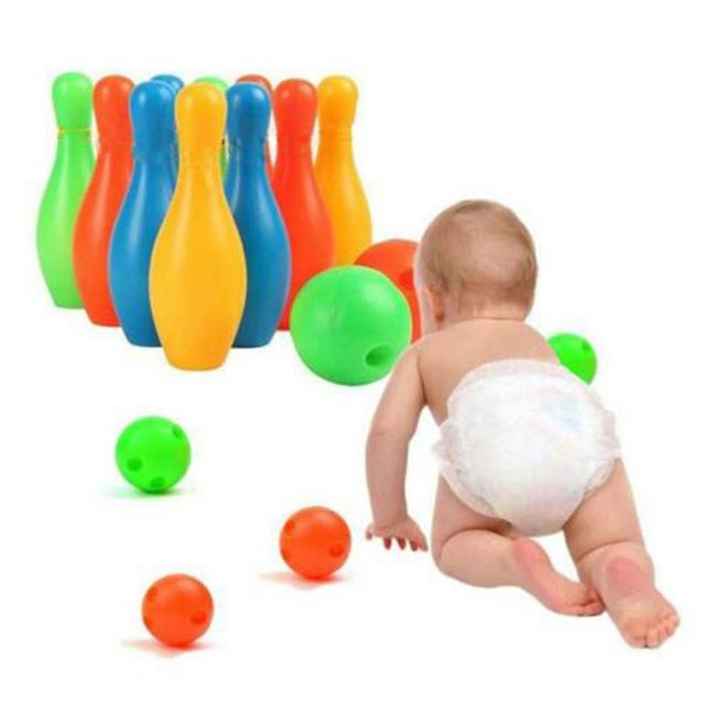 Bowling ball Toy parent-child interaction Sports Leisure sports entertainment bowling set children bowling plastic toys Outdoor