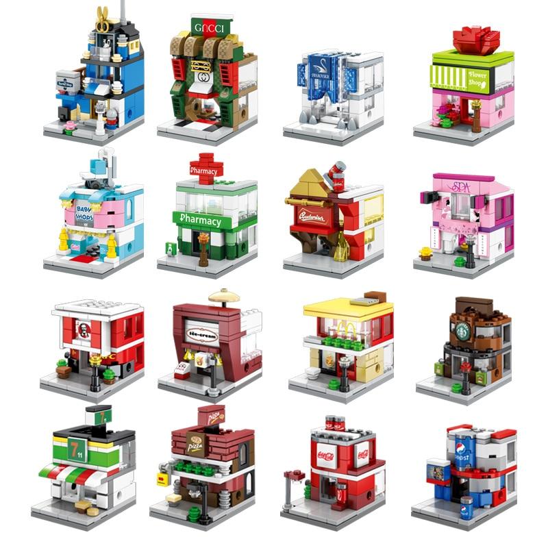 Конструктор «уличный вид» 8 в 1 SEMBO, комплект конструктора, Классическая модель для детей, подарок для мальчиков и девочек