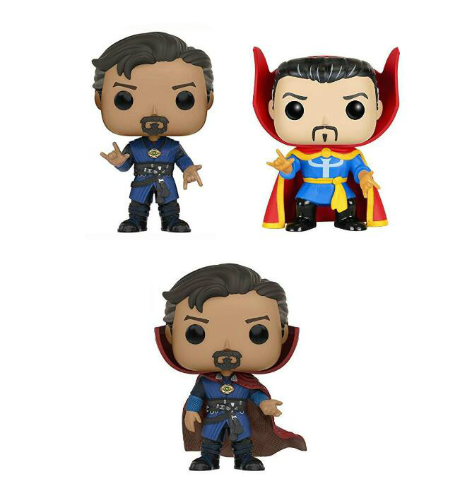 Funko POP Doctor Strange Vinyl Stephen Strange Doll Action Figures Collectible Model Toy For Chlidren Gift